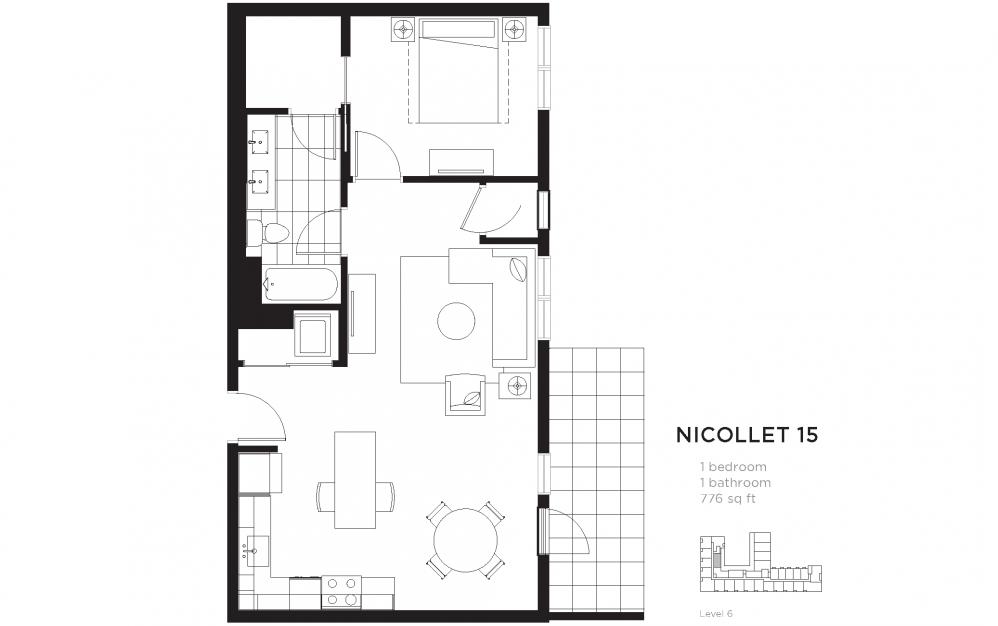 Second + Second - North Loop Apartments